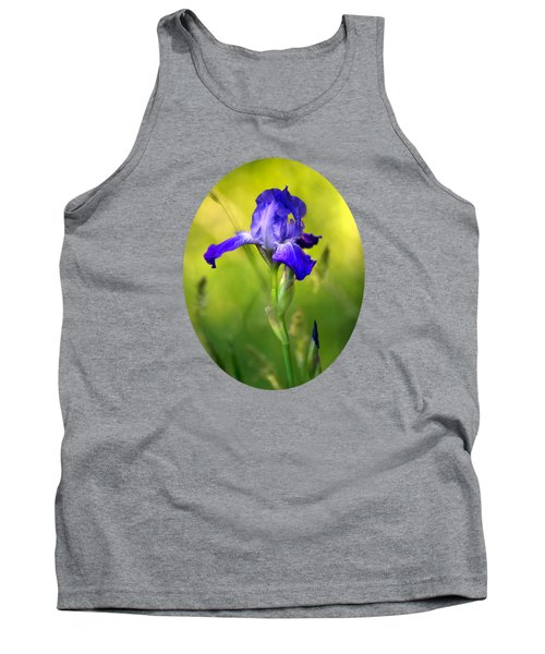 Tank Top featuring the photograph Violet Iris by Christina Rollo