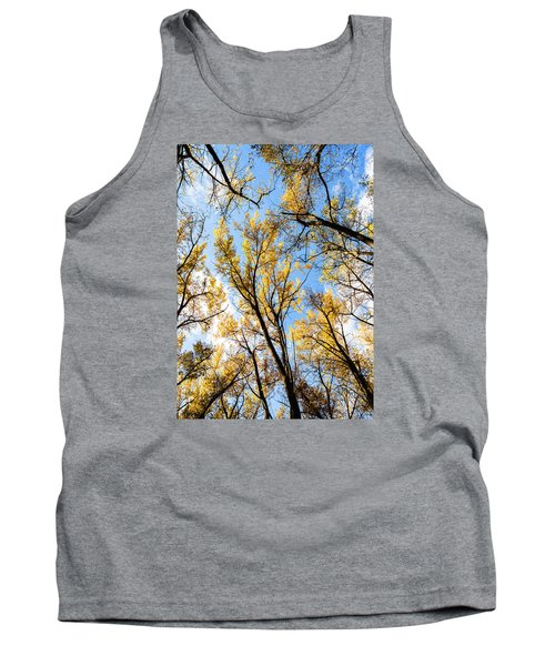 Tank Top featuring the photograph Looking Up by Bill Kesler