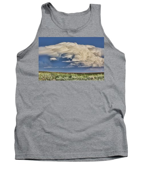 Tank Top featuring the photograph Cloud Brew by Bill Kesler