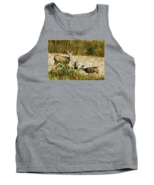 Mule Doe And Her Twins Tank Top