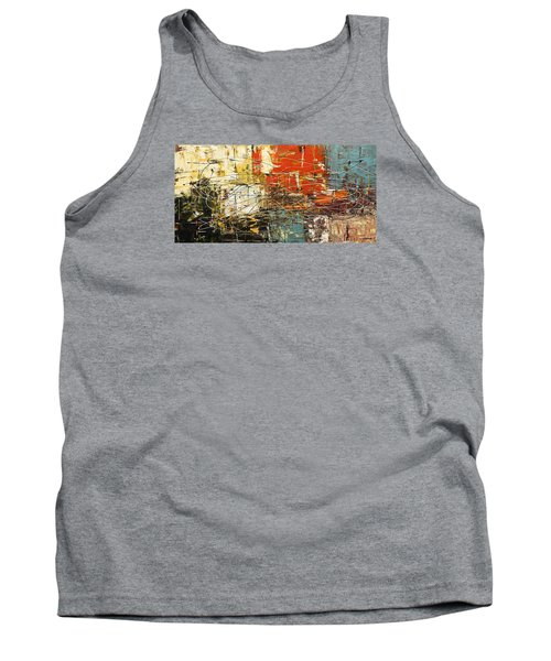 Tank Top featuring the painting Artylicious by Carmen Guedez