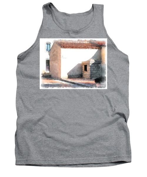 Arzachena Building Tank Top
