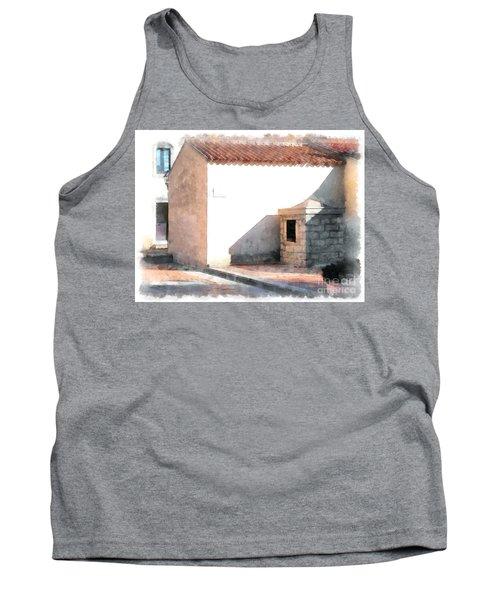 Arzachena Building Tank Top