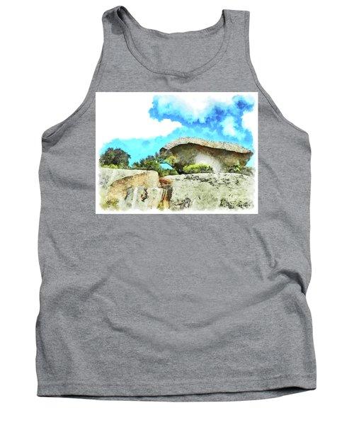 Arzachena Mushroom Rock Tank Top