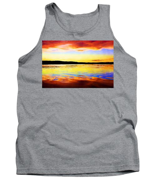 As Above So Below - Digital Paint Tank Top