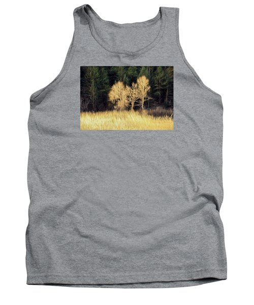 As The Sunset's Tank Top by James Steele
