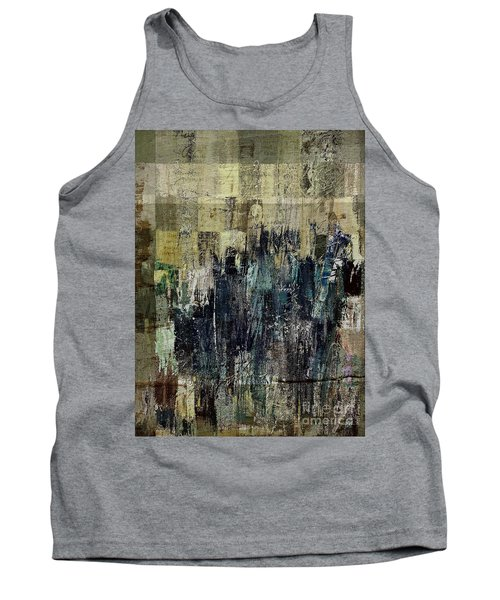 Tank Top featuring the painting Ascension - C03xt-159at2c by Variance Collections