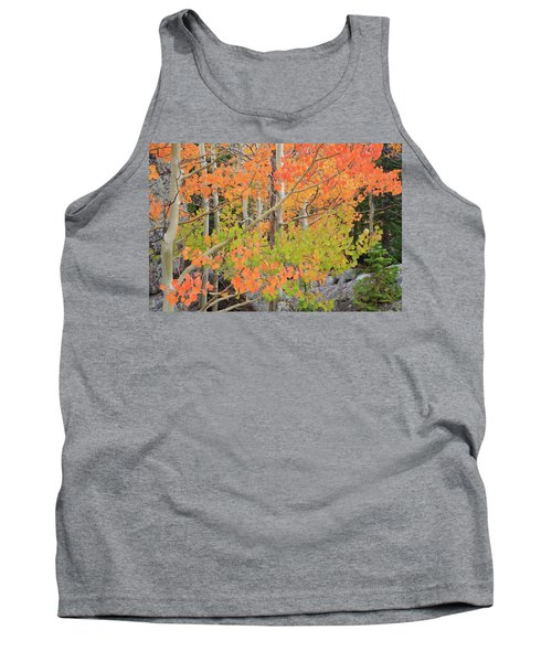 Tank Top featuring the photograph Aspen Stoplight by David Chandler