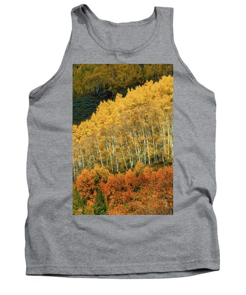 Tank Top featuring the photograph Aspen Waves by Dana Sohr