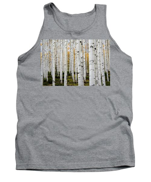 Aspens And Gold Tank Top