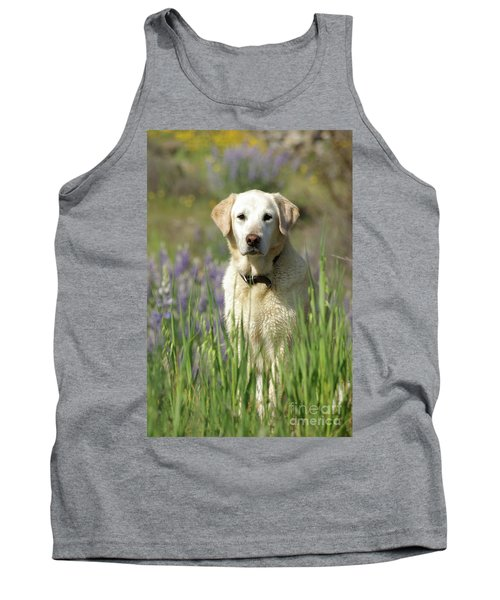 Tank Top featuring the photograph At Attention by Jim and Emily Bush