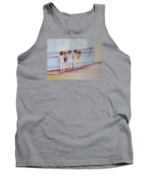 At The Barre Tank Top by Julie Todd-Cundiff