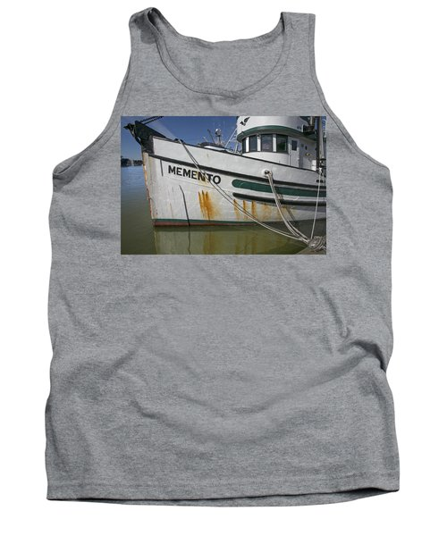 At The Dock Tank Top by Elvira Butler
