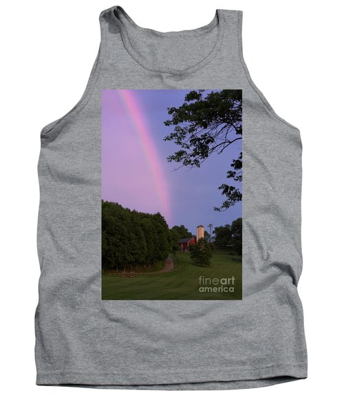 At The End Of The Rainbow Tank Top by Nicki McManus