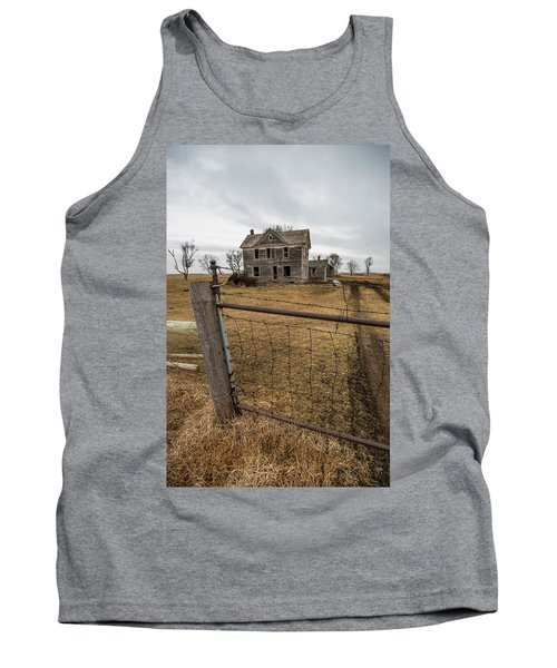 Tank Top featuring the photograph At The Gate  by Aaron J Groen