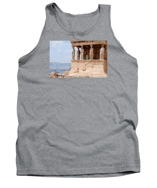 Tank Top featuring the photograph Erecthion by Robert Moss