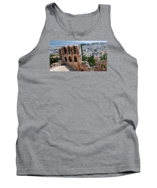 Athens From Acropolis II Tank Top