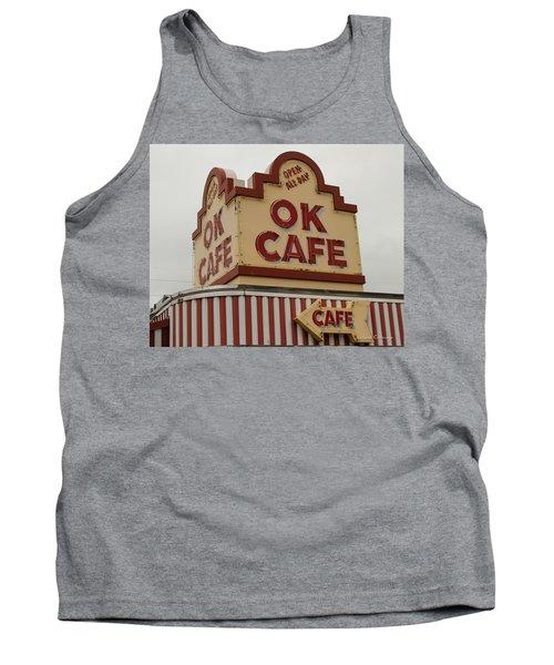 Atlanta Classic Ok Cafe Atlanta Restaurant Art Tank Top