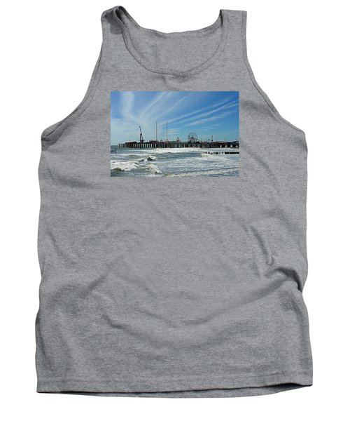 Atlantic City, New Jersey Tank Top by Allen Beilschmidt