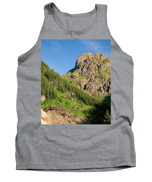 Tank Top featuring the photograph Atlas Mine by Steve Stuller
