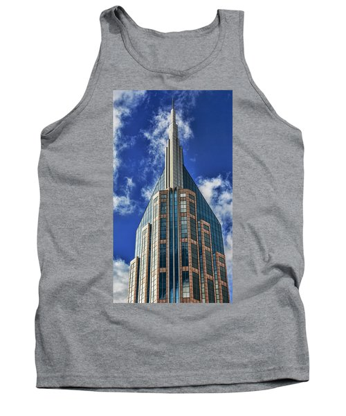Tank Top featuring the photograph Att Nashville by Stephen Stookey