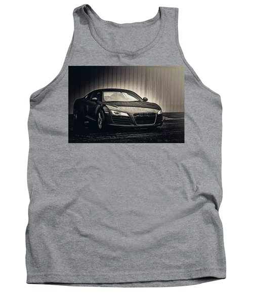 Tank Top featuring the photograph Audi R8 by Joel Witmeyer