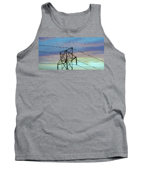 Auditioning For A Hitchcock Movie Tank Top