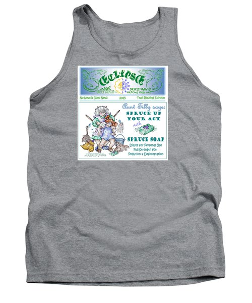 Real Fake News Tilly Ad 1 Tank Top