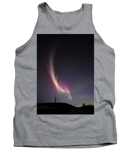 auroral Phenomonen known as Steve, 5 Tank Top