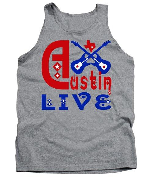 Austin Live Tank Top by David G Paul