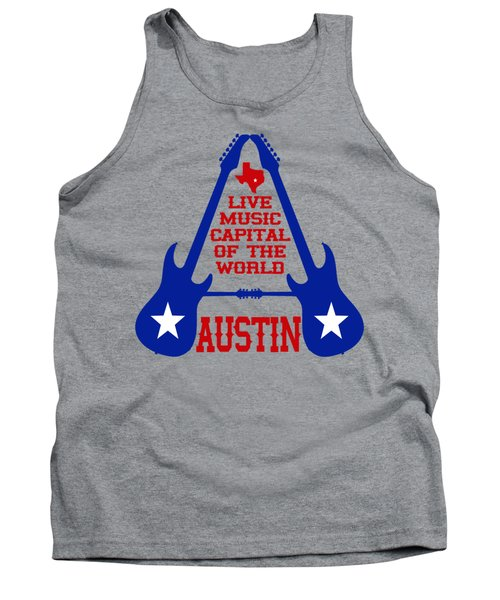 Austin Live Music Capital Of The World Tank Top