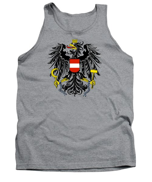 Austria Coat Of Arms Tank Top by Movie Poster Prints