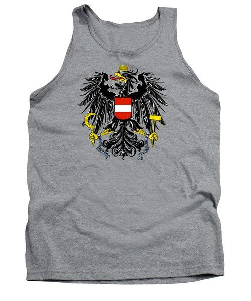 Austria Coat Of Arms Tank Top