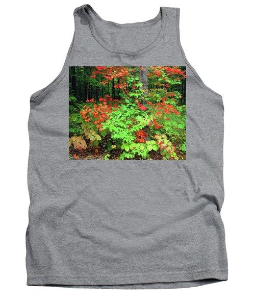 Autumn Abstract Tank Top