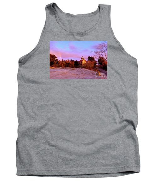 Autumn At East Point Lighthouse Tank Top