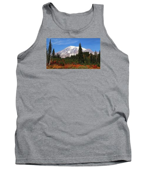 Tank Top featuring the photograph Autumn At Paradise by Lynn Hopwood