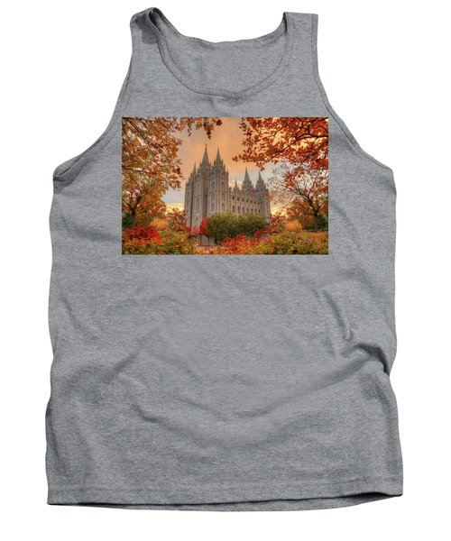 Autumn At Temple Square Tank Top