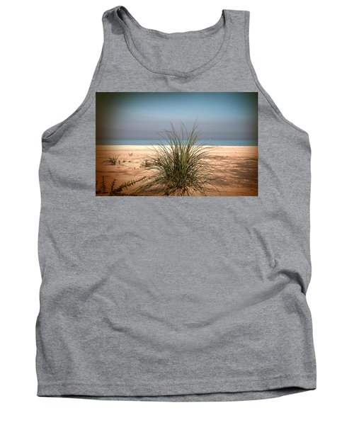Autumn Beach Tank Top