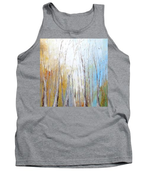 Tank Top featuring the painting Autumn Bliss by Dina Dargo