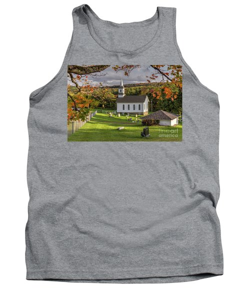 Autumn Church Tank Top