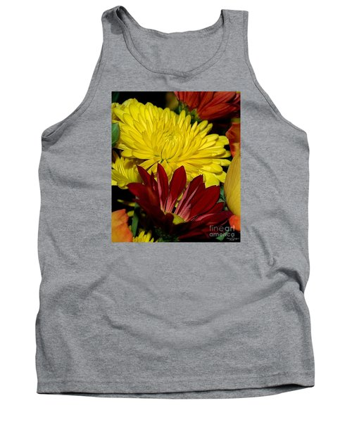 Tank Top featuring the photograph Autumn Colors by Patricia Griffin Brett