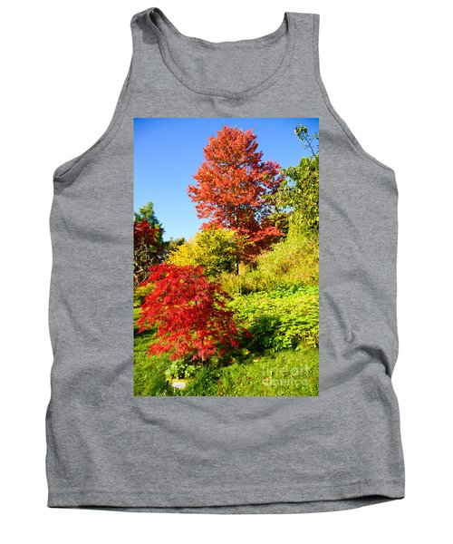 Autumn Colours Tank Top by Colin Rayner