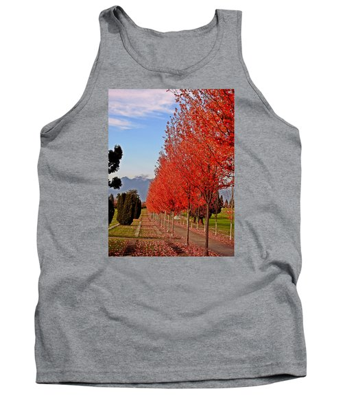 Autumn Delight, Vancouver Tank Top by Brian Chase