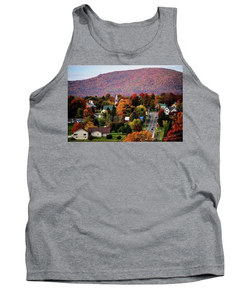 Autumn In Danville Vermont Tank Top by Sherman Perry