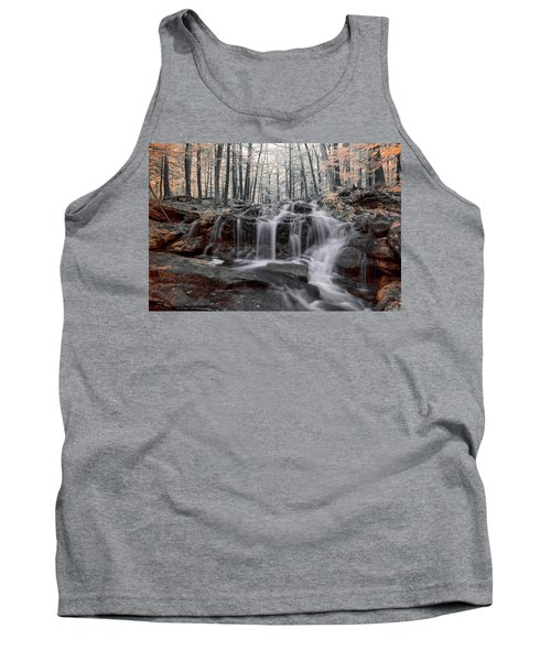Autumn In Spring Infrared Tank Top