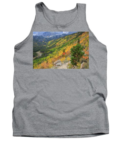 Tank Top featuring the photograph Autumn On Bierstadt Trail by David Chandler