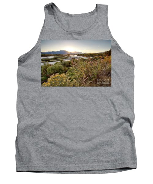 Autumn On The South Fork Tank Top