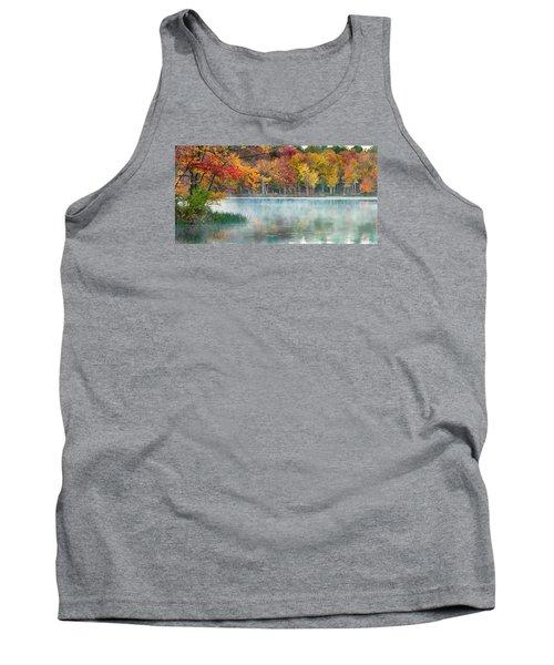 Autumn Pond Tank Top by Brian Caldwell