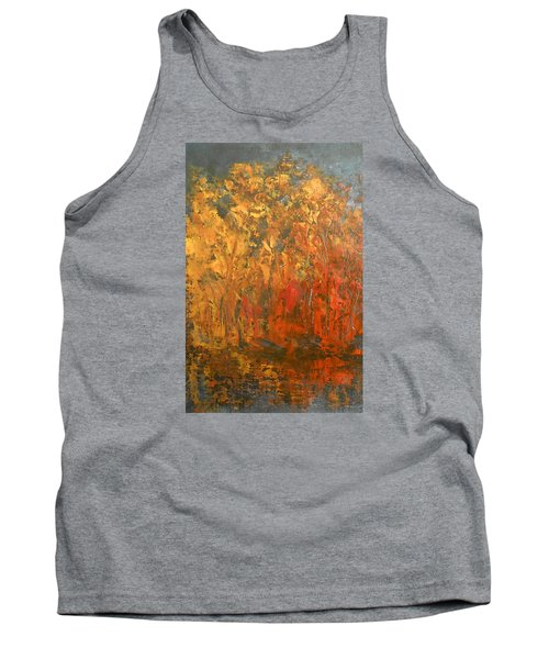 Autumn Reflections 1 Tank Top by Jane See