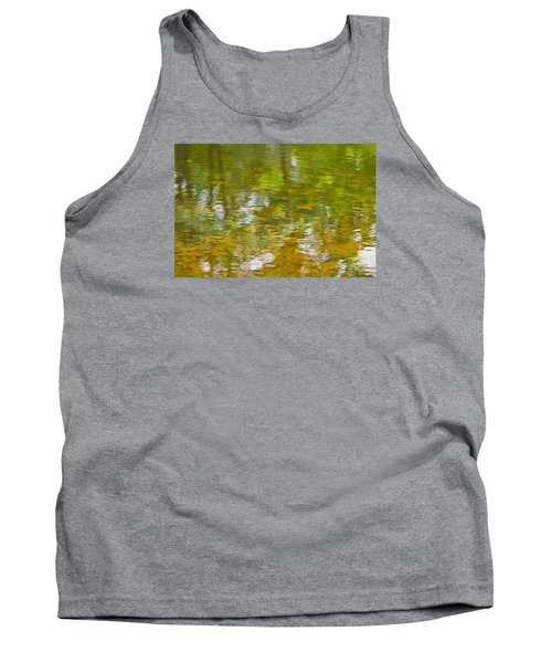 Tank Top featuring the photograph Autumn Reflections by Wanda Krack